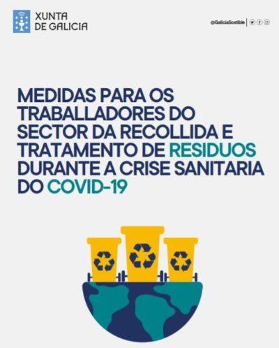 Medidas para los trabajadores del sector de la recogida y tratamiento de residuos durante la crisis sanitaria del COVID19