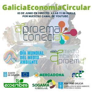 Galicia Economía Circular, un evento para informar y valorar las acciones a favor del Medio Ambiente